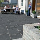 Sealing Marshalls Fairstone Aluri Riven Charcoal limestone